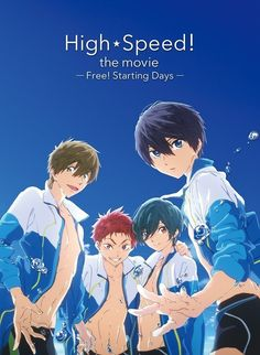 """Crunchyroll - """"High Speed! -Free! Starting Days-"""" Becomes Top-Selling Blu-ray Disc of the Week"""