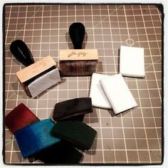 Tutorial; Making Sponge Blocks for your Distress Inks