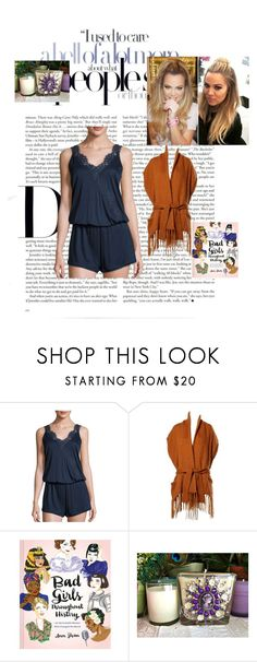 """""""Cocooning style"""" by sblabla ❤ liked on Polyvore featuring Hanro, Kenzo and Chronicle Books"""