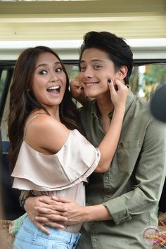 13 - Kathniel's Pictorial BTS for Can't Help Falling In Love - Push.com.ph