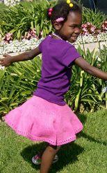 Swirling Skirt | AllFreeKnitting.com