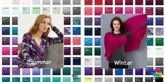 Cool Colors from Kettlewell Colours Winter 2016 - the best of Summer and Winter #cool coloring #color analysis  http://www.style-yourself-confident.com/color-analysis-cool.html
