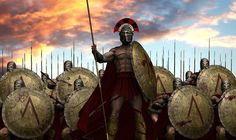 The Battle of Thermopylae was the initial engagement between the Persian Empire and the confederation of Greek city-states led by Sparta during the Second Pe. Greek History, Ancient History, Ancient Rome, Ancient Greece, Guerrero Dragon, Greco Persian Wars, Classical Greece, Greek Warrior, Character Art