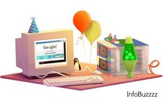 Google has turned 17 years today and is celebrating its birthday with a special doodle on the homepage. The homepage has an old school desktop screen, a Linux pengiun, a Lava lamp and an server wit...