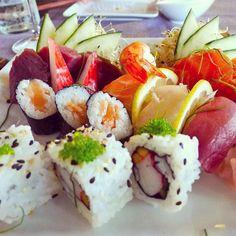 Sushi at Minami Restaurant  @ushuaiaibiza #ibiza #eivissa by innaskyblog