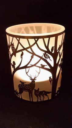 Woodland Tealight Holder - Woodland Scene One - Presentorium - Your Secret Weapon for Gifting