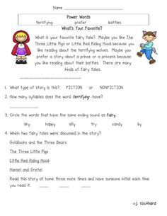 Worksheets Comprehension For 1st Grade comprehension 1st grades and pets on pinterest fun in first grade comprehensionfluency