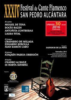 ESTA NOCHE ES EL SORTEO TODAVÍA PUEDES PARTICIPAR... http://www.marbella-sanpedro.com/sorteo-una-entrada-doble-xxxiv-festival-cante-flamenco-san-pedro-alcantara/