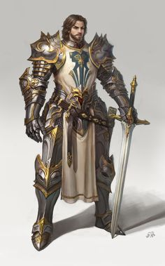 Knight by cenotaph kveldulv | Fantasy | 2D | CGSociety