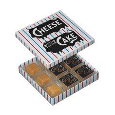 銀座で生まれ、銀座で育ったチーズケーキ。北海道産の小麦粉を使った香ばしいビスキュイ生地で、デンマーク産のクリームチーズを包み込んで焼き上げました。口の中でなめら…