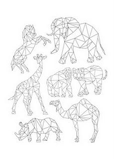 Geometric Animal Project                                                       …