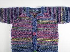 Ravelry: Pippi Baby Jacket pattern by Frankie Brown