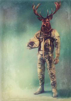 Space Mammals by RubbishMonkey
