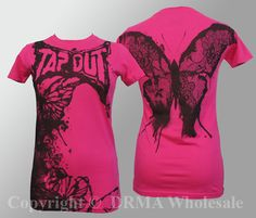 cute authentic tapout tee!