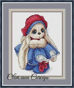 Svetlana Sichkar Rabbit Tatiana GRI-SVET-3016LAPINTATIANA
