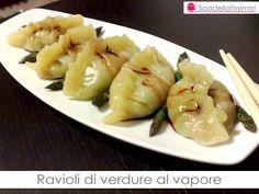 Spadellatissima!: Ravioli di verdure al vapore