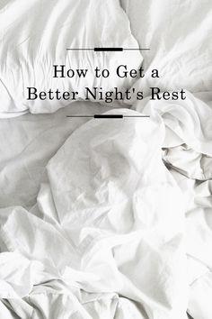 Better Nights Rest /