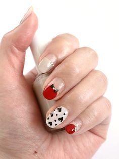ALICE in wonderland nails 2 cute!!!!