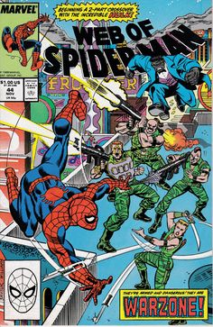 Web of Spider-Man 44 November 1988 Issue  Marvel by ViewObscura
