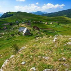 Gradina - Umoljani, small village on the mountain Bjelasnica,