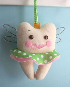 Ballerina Fairy Tooth Pillow for Thing 1 and Thing 2