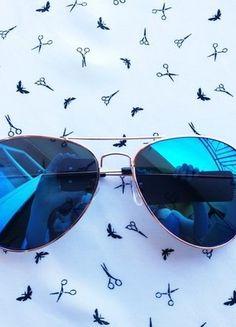 Kup mój przedmiot na #vintedpl http://www.vinted.pl/akcesoria/okulary-przeciwsloneczne/18486421-okulary-pilotki-lustrzanki-idealne-na-lato