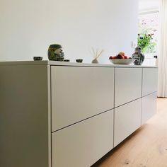 Sideboard Furniture, Modern Sideboard, Home Furniture, Furniture Design, Custom Furniture, Flur Design, Living Room Tv, Design Moderne, Cuisines Design