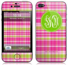 Fun personalized skins for your iPhone, Blackberry, iPod, MP3 player, or iPad, Kindle, Nook and more!