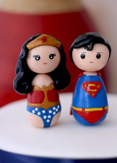 Hey, I found this really awesome Etsy listing at http://www.etsy.com/listing/151849521/superman-and-wonder-woman-wedding-cake