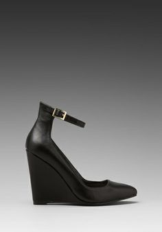 STEVEN Wisty Wedge in Black at Revolve Clothing - Free Shipping!