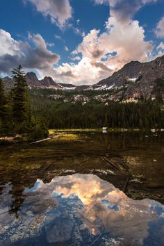 Cutthroat Lake, North Cascades National Park, #Washington