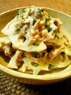✿すぐに出来ちゃぅ♬ツナれんこん✿ Apple Pie, Cauliflower, Macaroni And Cheese, Favorite Recipes, Meat, Vegetables, Ethnic Recipes, Desserts, Food