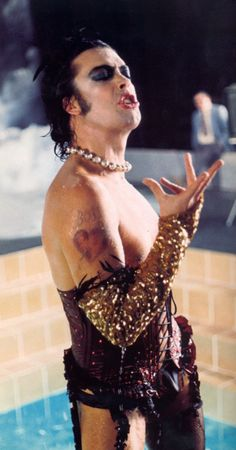 """Timothy James """"Tim"""" Curry (born 19 April 1946) is an English actor, singer, composer, and voice actor, known for his work in a diverse range of theatre, film & television productions.  Curry first rose to prominence with his portrayal of Dr. Frank-N-Furter in the 1975 cult film The Rocky Horror Picture Show, reprising the role he had originated in the stage productions of The Rocky Horror Show. #RHPC """"I'm not a conventional leading man at all and have no wish to be."""""""