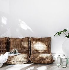 #Outdoor pleasures #relax on pillows #Beachwood time out