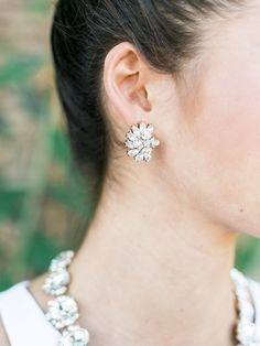 olive + piper Luxe Cluster Studs