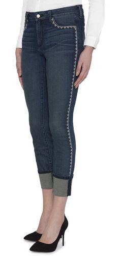 NYDJ Aline Wide Cuff Ankle »aus stretch denim« für 159,95€. Bestellen Sie eine Größe kleiner!, Exklusiven Lift Tuck Technology® bei OTTO