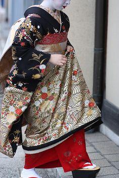 Kikune's kimono