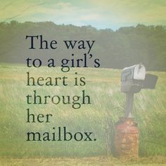 Hehe, I love letters! I just miss snail mail receiving letters! Need to start snail mailing again.I have some letters to reply to. Love Mail, You've Got Mail, Fun Mail, Art Postal, Handwritten Letters, Happy Mail, Letter Writing, Snail Mail, Mail Art