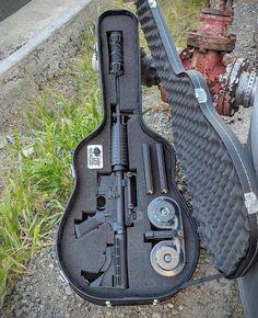 Cedar Mill Fine Firearms - Rifle, Pistol, and Gun Cases Ninja Weapons, Weapons Guns, Guns And Ammo, Zombie Apocalypse Weapons, Armas Ninja, Hidden Gun, Gun Storage, Storage Ideas, Gun Cases