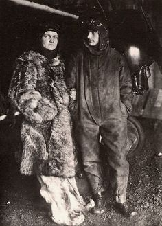 Manfred von Richthofen with brother Lothar