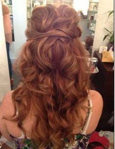 Wedding hair 10.17.15 <3