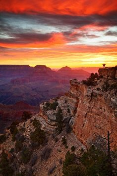 "Grand Canyon ~ there is no photo in the world that can truly capture the complete & captivating grandeur of the Grand Canyon in AZ, USA.  It is something that must be experienced.  This photo says, ""Come hither!""  And we will!"