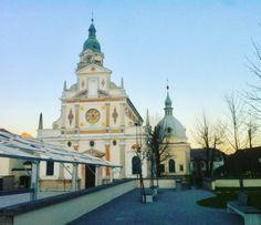 Slovenia Brezje Basilica of Mary Help of Christians