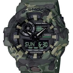 online shopping for Casio G-Shock Men's Green/Camo One Size from top store. See new offer for Casio G-Shock Men's Green/Camo One Size G Shock Watches Mens, G Shock Men, Sport Watches, Cool Watches, Watches For Men, Casual Watches, Casio G-shock, Casio Watch, Tactical Watch