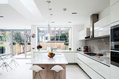 WINDOWS AND KITCHEN DESIGN, NOT CUPBOARD STYLE