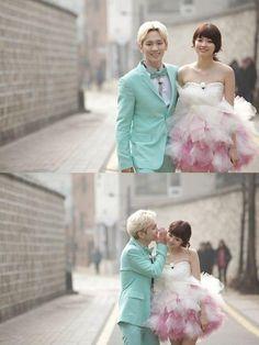 Wedding photos recommendation  11 粉紅小動作-Key and Yagi Arisa