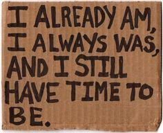 Believe that.