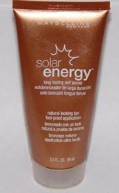 Maybelline Solar Energy Long-Lasting Self Tanner 3.0 fl oz, Light to Medium - http://www.yourglt.com/maybelline-solar-energy-long-lasting-self-tanner-3-0-fl-oz-light-to-medium/?utm_source=PN&utm_medium=http%3A%2F%2Fwww.pinterest.com%2Fpin%2F368450813235896433&utm_campaign=SNAP%2Bfrom%2BGreen+-+Village
