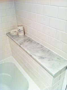 style-ing w/ children: Help: Marble Ledge for the Shower