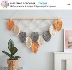 Macrame Plant Hanger Patterns, Macrame Wall Hanging Diy, Macrame Art, Macrame Design, Macrame Projects, Macrame Patterns, Yarn Wall Art, Diy Crafts Hacks, Macrame Tutorial